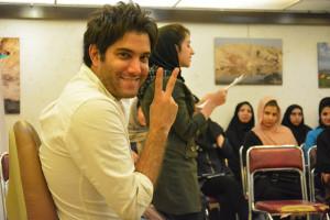 اخرین جلسه از کارگاه داستان نویسی امیر علی نبویان
